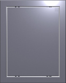 Люк настенный Evecs Л2025 Dark Gray Metal